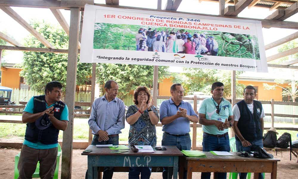 Reforzando la línea de derechos humanos en organizaciones de rondas campesinas del bajo biavo-regiòn San Martìn-Perù